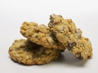 Chocolate and Oat Biscuits recipe