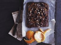 Choco-orange Tray Bake recipe