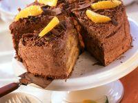 Chocolate and Orange Cream Cake recipe