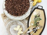 Chocolate-Banana Cheesecake recipe