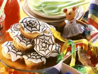 Chocolate Banana Halloween Cupcakes recipe