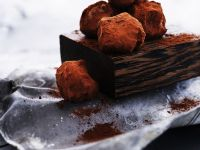 Chocolate-Banana Truffles recipe