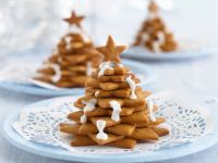 Chocolate Biscuit Christmas Trees recipe