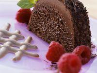 Chocolate Bombe with Raspberries recipe