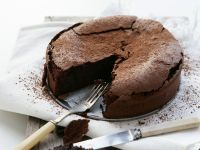 Gourmet Dark Chocolate Torte recipe