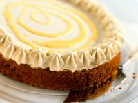 Chocolate Cake with Advocaat Cream recipe