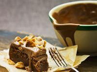 Chocolate Cake with Walnut Glaze recipe