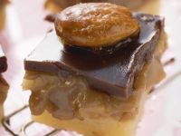 Caramel Sweet Biscuit Squares recipe