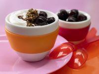 Chocolate-Cherry Yogurt recipe