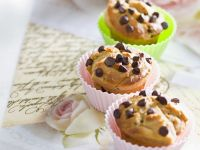 Chocolate Chip Muffins with Peanut Butter recipe