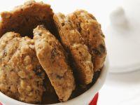 Chocolate Chip Oat Cookies recipe