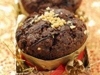 Chocolate Christmas Muffins recipe
