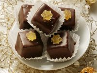 Chocolate-Coated Marzipan Candies with Candied Ginger recipe