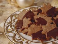 Chocolate-Coated Star Cookies recipe