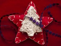 Chocolate-Coconut Christmas Tree Cookies recipe