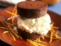 Chocolate Cookie and Vanilla Ice Cream Sandwiches recipe