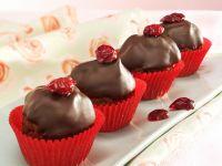 Chocolate Cranberry Mini Muffins recipe