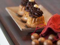 Chocolate Cream and Praline Mini Bundt Cakes recipe
