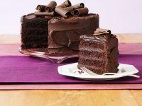Chocolate Cream Gateau recipe