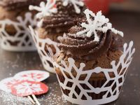 Chocolate Cupcakes with Coffee Cream Frosting recipe