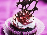 Chocolate Cupcakes with Raspberry Buttercream recipe