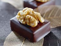 Chocolate Dipped Marzipan Candies recipe