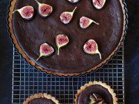 Chocolate Fig Tarts recipe