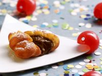 Chocolate Filled Pastries recipe