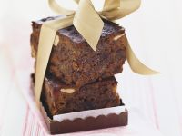 Chocolate Frosted Date and Banana Cake recipe