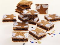 Chocolate, Fruit and Nut Ginger Cake Squares recipe
