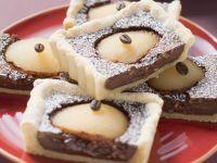 Chocolate Ganache and Pear Tart recipe
