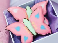 Chocolate Hazelnut Butterfly Cookies recipe