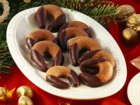Chocolate Nougat Crescents recipe