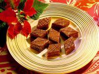 Chocolate Hazelnut Diamonds recipe