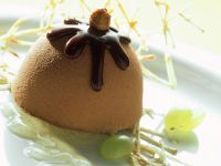 Choco Nut Ice Cream Bombe recipe