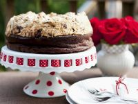 Chocolate Hazelnut Meringue Cake recipe