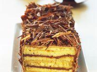 Chocolate Marzipan Layer Cake