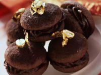 Chocolate Meringue Sandwich Cookies with Chocolate Ganache Filling recipe
