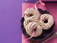Chocolate Meringue Whirls recipe