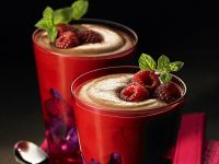 Chocolate Mousse with Berries recipe