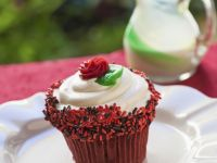 Chocolate Muffins with Marshmallow Cream recipe