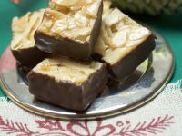 Chocolate, Nut, and Honey Candy Squares recipe