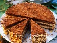 Chocolate Nut Cake recipe