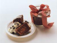 Chocolate Nut Cake in a Jar recipe