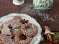 Chocolate Nut Cut-out Cookies recipe