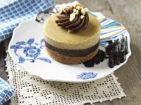 Chocolate Peanut Cheesecakes recipe