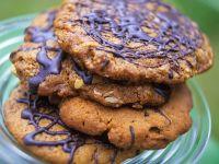 Chocolate Peanut Cookies recipe