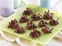 Chocolate-Peanut Haystack Cookies recipe