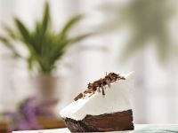 Chocolate Pie with Whipped Cream Topping recipe