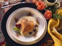 Chocolate Pudding with Custard Sauce recipe